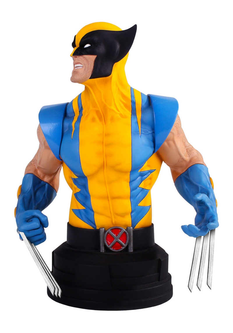 WOLVERINE YELLOW AND BLUE MINI BUST Wolverine-yellow-and-blue-gentle_giant_mini-bust_03__Copier_
