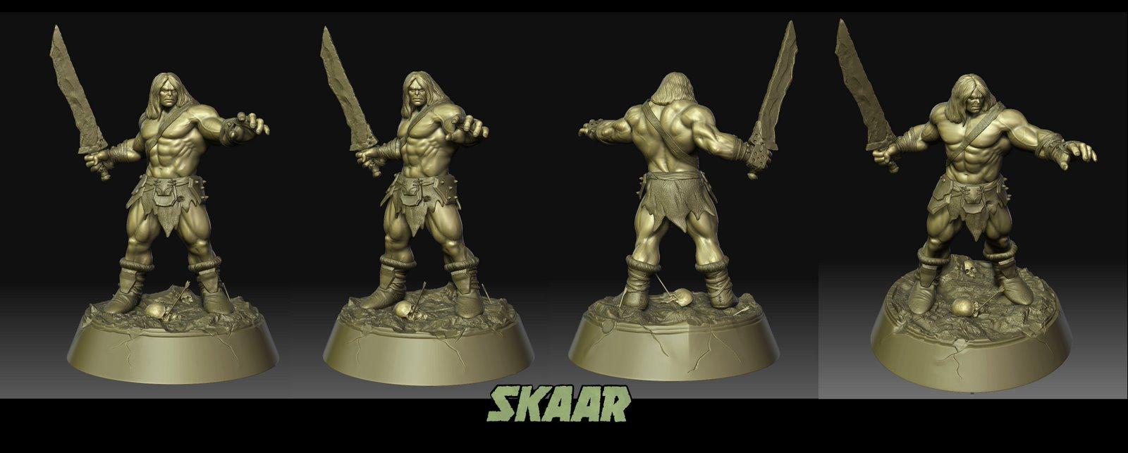 Les travaux de AY sculpture - Page 4 Skaar