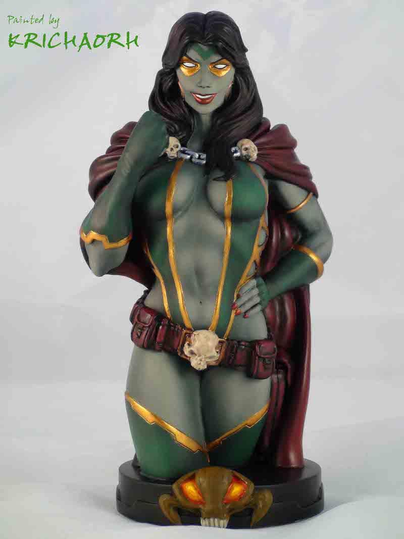 GAMORA BUSTE Gamora2