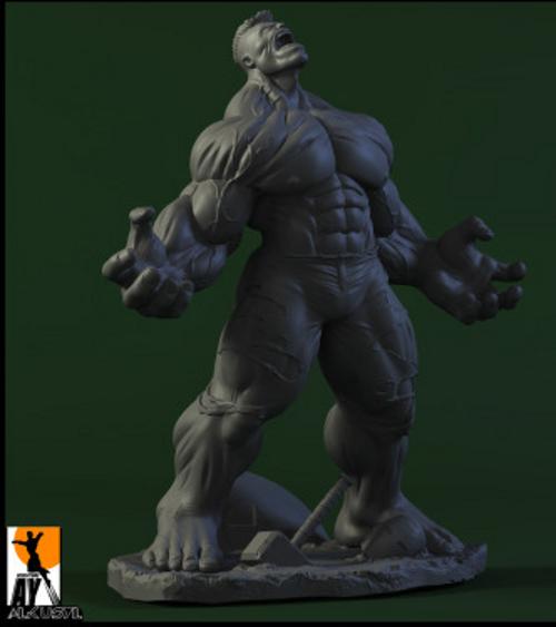 Les travaux de AY sculpture - Page 7 Hulk_ay_sculpture