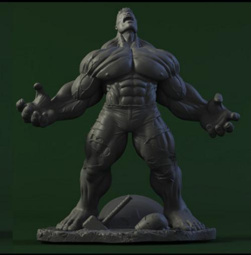 Les travaux de AY sculpture - Page 7 Hulk_ay_sculpture_2