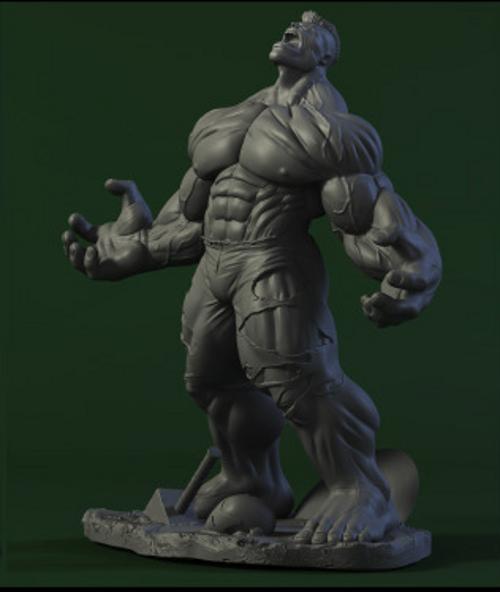 Les travaux de AY sculpture - Page 7 Hulk_ay_sculpture_3