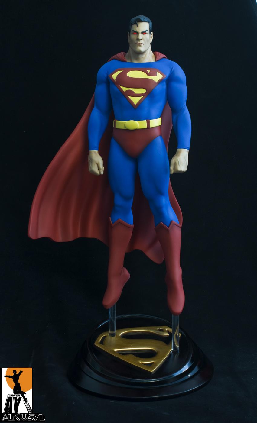 Les travaux de AY sculpture - Page 7 Superman_painted_AY_Sculptture