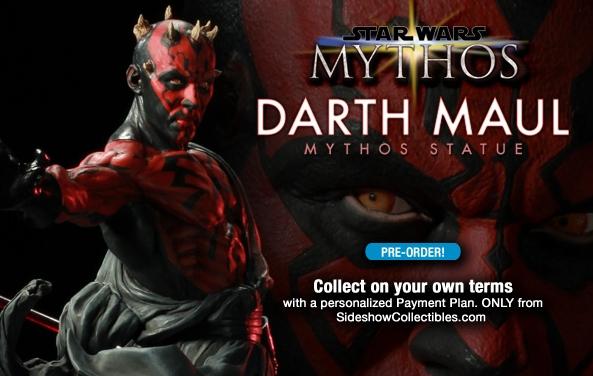 STAR WARS: DARTH MAUL Mythos statue DMM