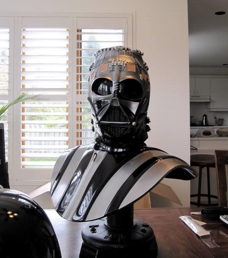 STAR WARS: DARTH VADER Life size bust Darth_Vader_life_size_bust__sideshow_3