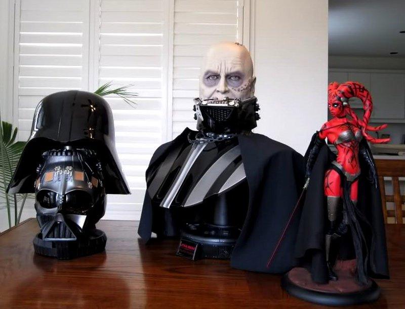 STAR WARS: DARTH VADER Life size bust Darth_Vader_life_size_bust__sideshow_6