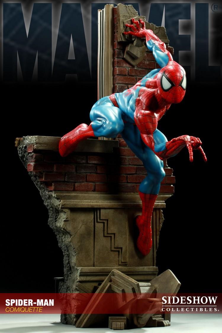 """SPIDERMAN """"ARIEL OLIVETTI"""" Comiquette Spiderman_200065_press_01__Copier_"""
