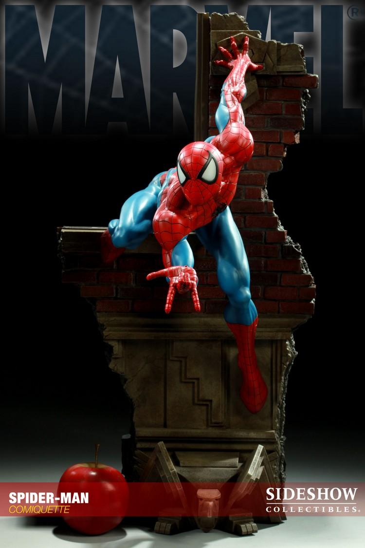 """SPIDERMAN """"ARIEL OLIVETTI"""" Comiquette Spiderman_200065_press_02__Copier_"""