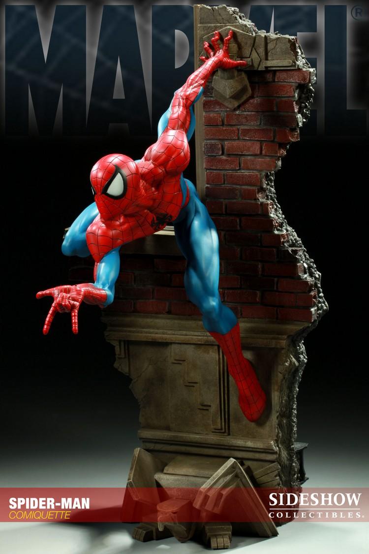 """SPIDERMAN """"ARIEL OLIVETTI"""" Comiquette Spiderman_200065_press_03__Copier_"""