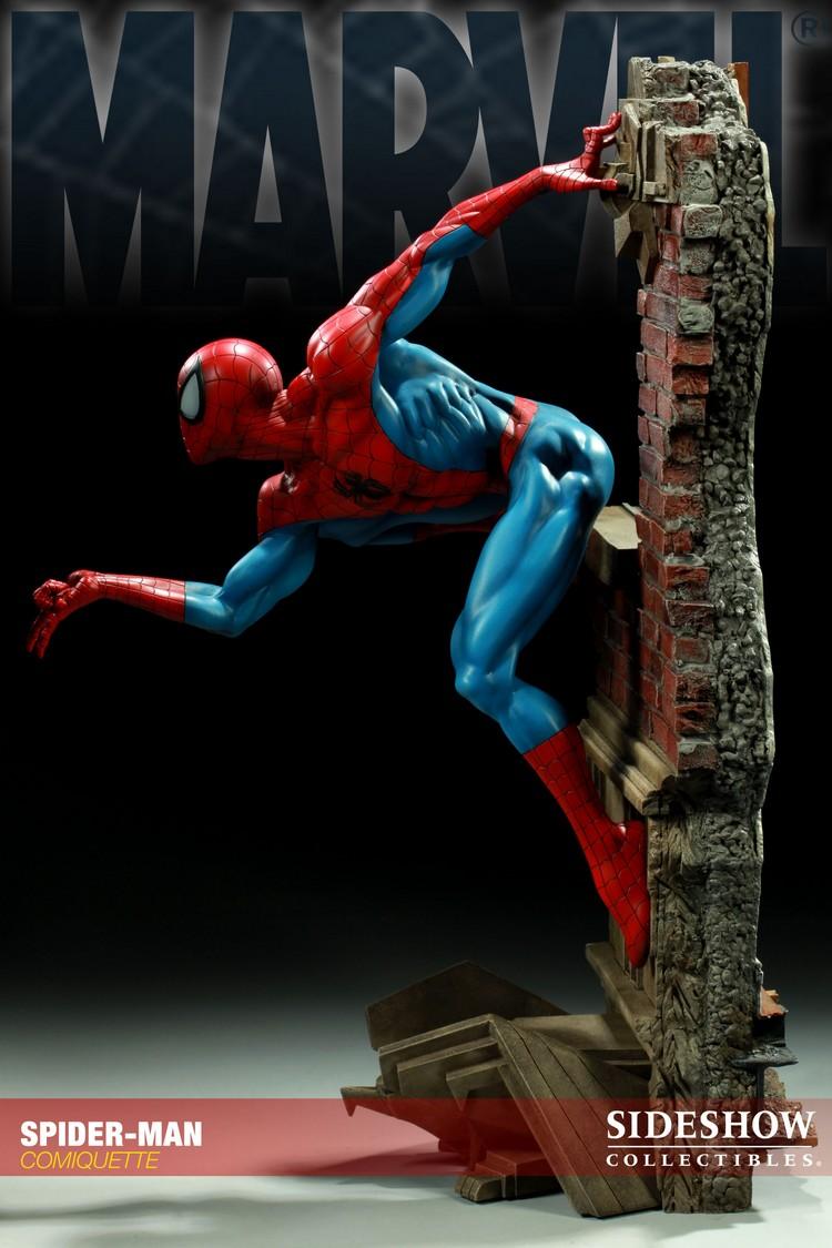 """SPIDERMAN """"ARIEL OLIVETTI"""" Comiquette Spiderman_200065_press_04__Copier_"""