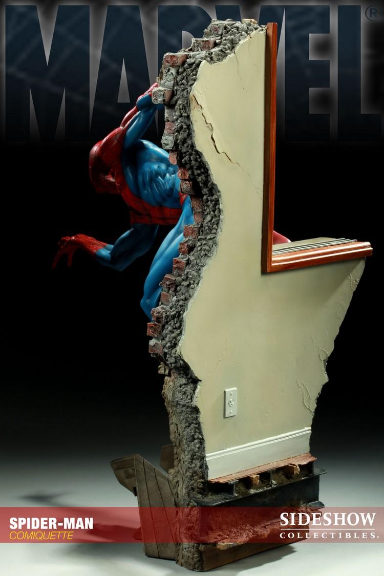"""SPIDERMAN """"ARIEL OLIVETTI"""" Comiquette Spiderman_200065_press_05__Copier_"""
