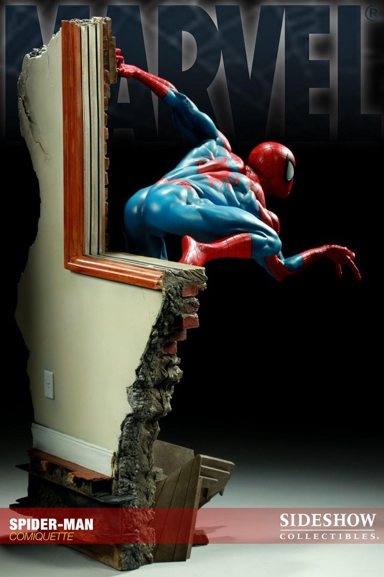 """SPIDERMAN """"ARIEL OLIVETTI"""" Comiquette Spiderman_200065_press_06__Copier_"""