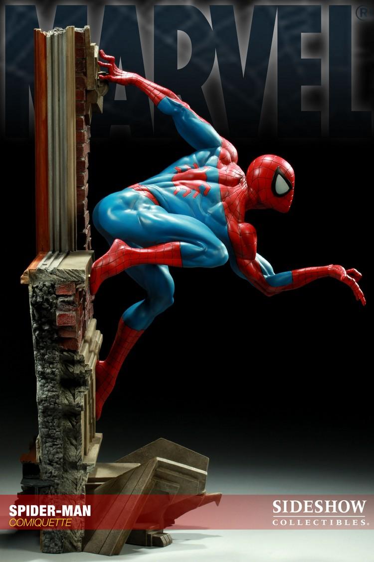 """SPIDERMAN """"ARIEL OLIVETTI"""" Comiquette Spiderman_200065_press_07__Copier_"""