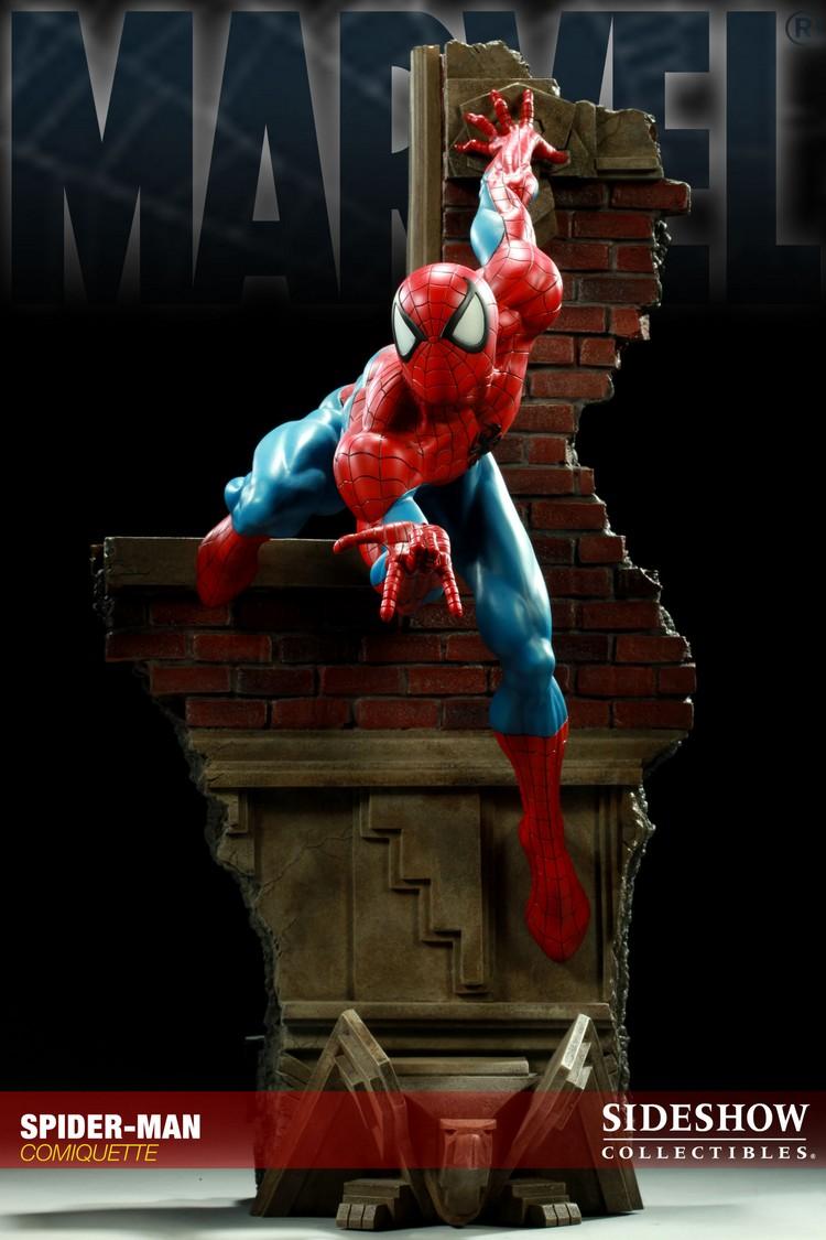 """SPIDERMAN """"ARIEL OLIVETTI"""" Comiquette Spiderman_200065_press_08__Copier_"""