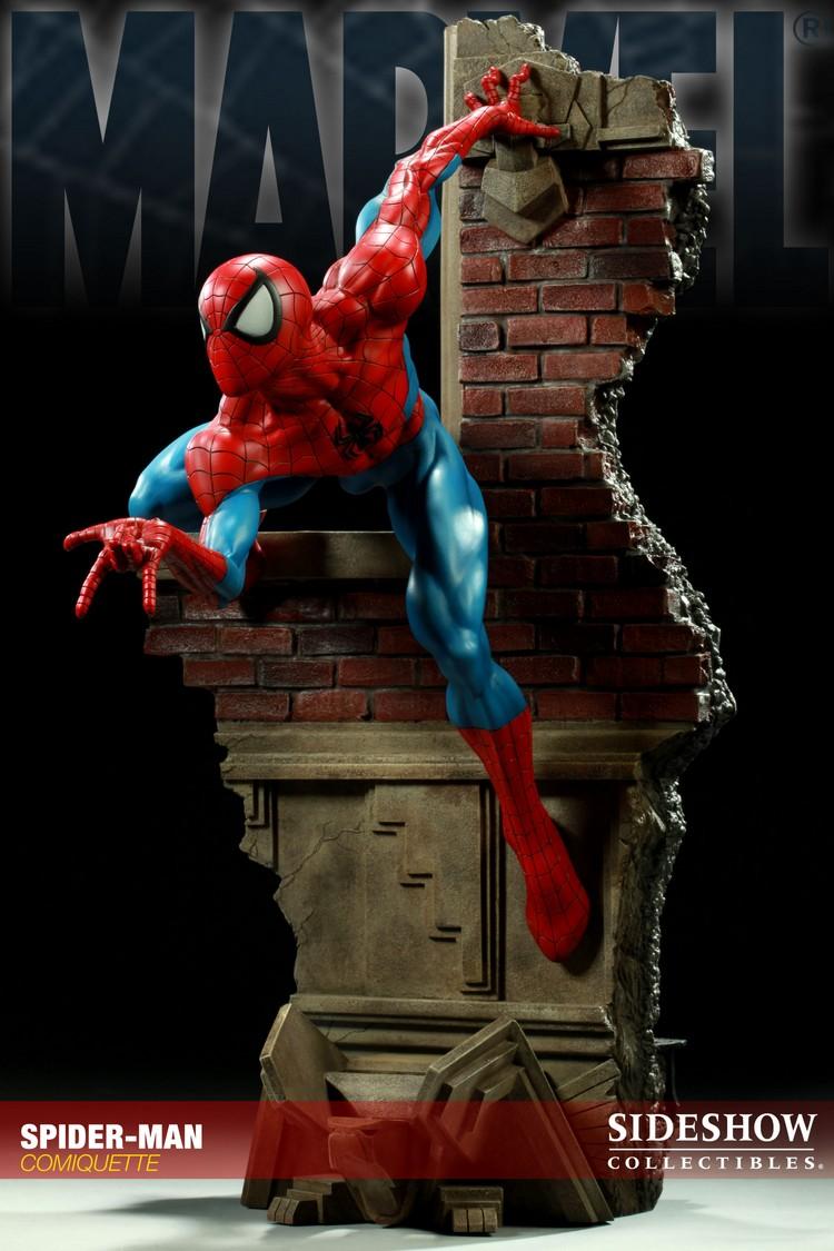 """SPIDERMAN """"ARIEL OLIVETTI"""" Comiquette Spiderman_200065_press_09__Copier_"""