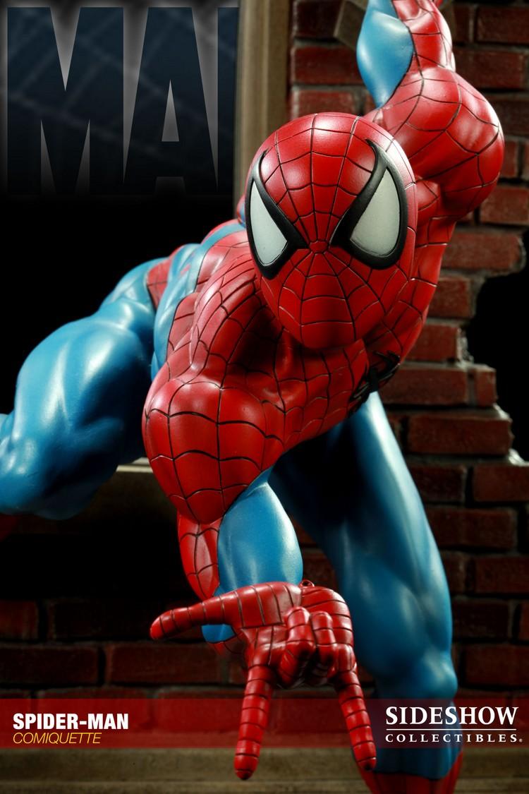 """SPIDERMAN """"ARIEL OLIVETTI"""" Comiquette Spiderman_200065_press_10__Copier_"""