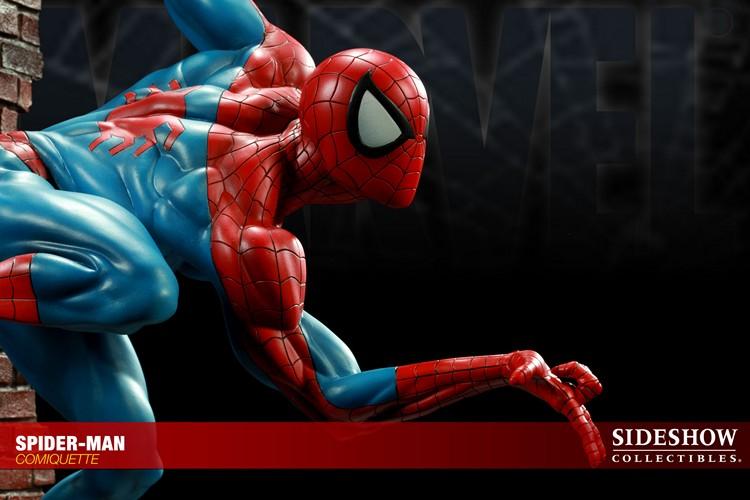 """SPIDERMAN """"ARIEL OLIVETTI"""" Comiquette Spiderman_200065_press_11__Copier_"""