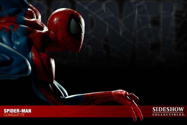 """SPIDERMAN """"ARIEL OLIVETTI"""" Comiquette Spiderman_200065_press_12__Copier_"""