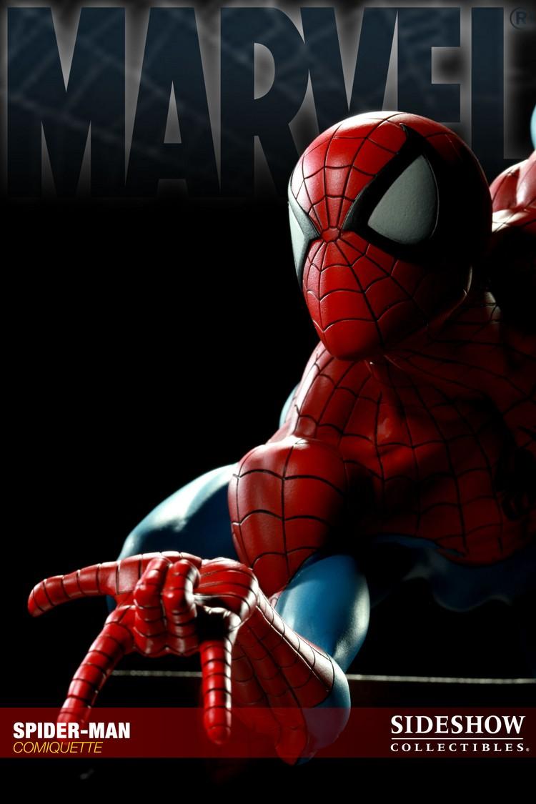 """SPIDERMAN """"ARIEL OLIVETTI"""" Comiquette Spiderman_200065_press_14__Copier_"""