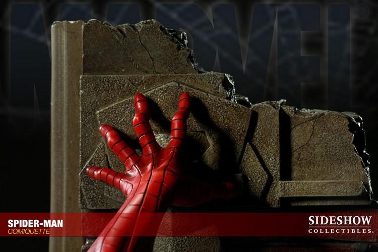 """SPIDERMAN """"ARIEL OLIVETTI"""" Comiquette Spiderman_200065_press_16__Copier_"""