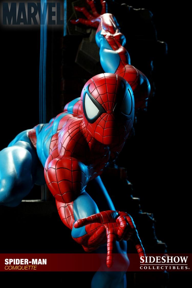 """SPIDERMAN """"ARIEL OLIVETTI"""" Comiquette Spiderman_200065_press_18__Copier_"""