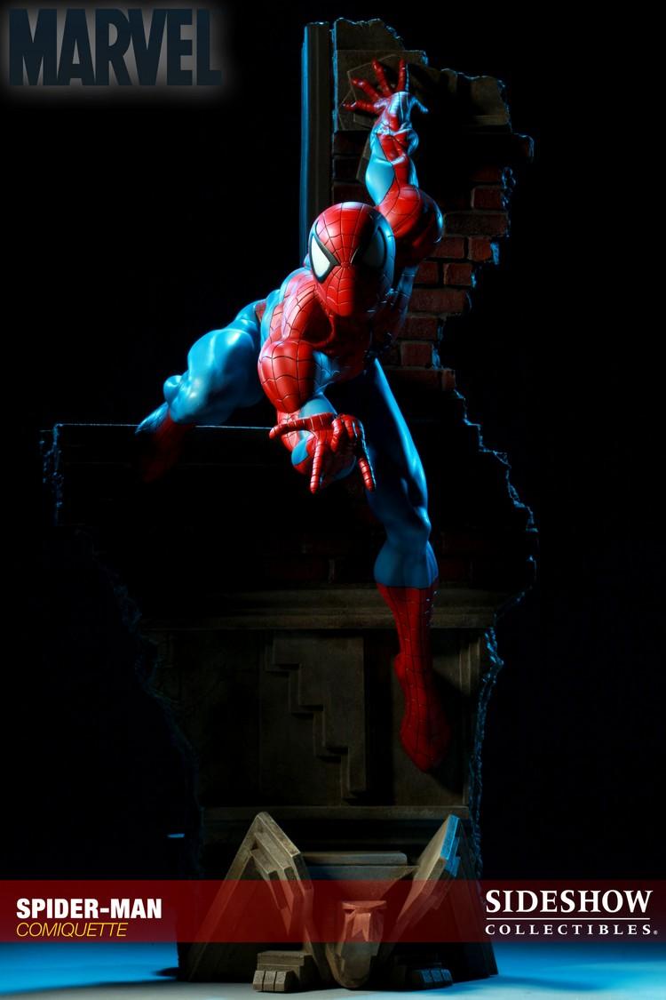 """SPIDERMAN """"ARIEL OLIVETTI"""" Comiquette Spiderman_200065_press_19__Copier_"""