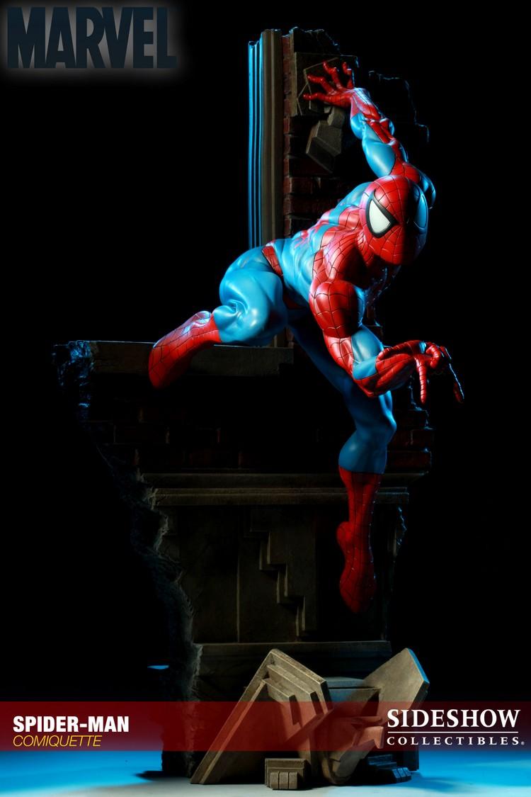 """SPIDERMAN """"ARIEL OLIVETTI"""" Comiquette Spiderman_200065_press_20__Copier_"""