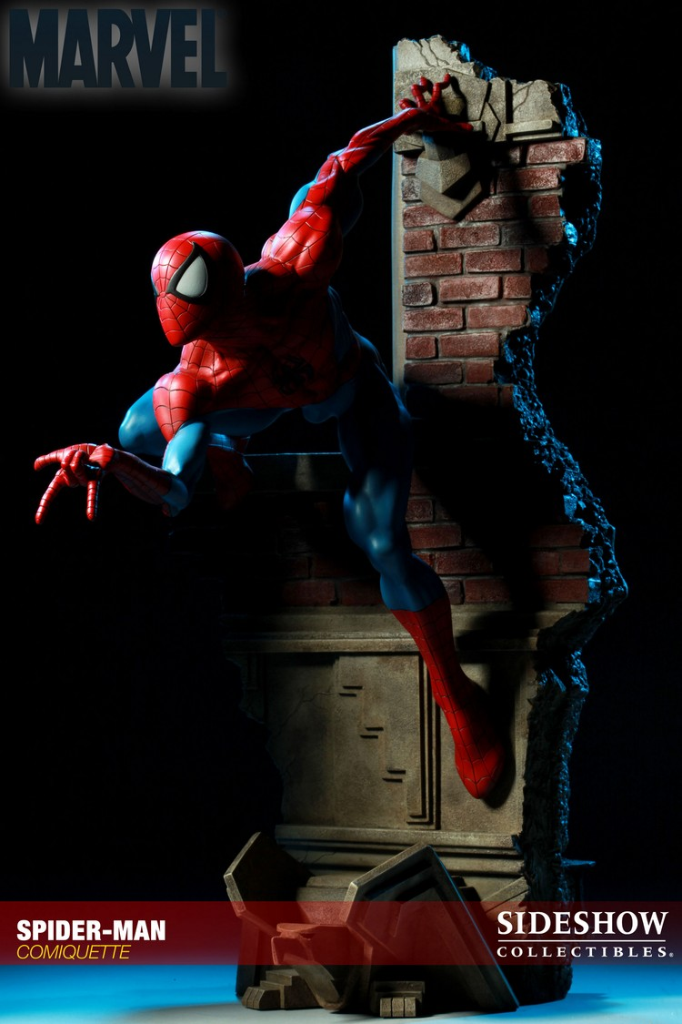 """SPIDERMAN """"ARIEL OLIVETTI"""" Comiquette Spiderman_200065_press_21__Copier_"""