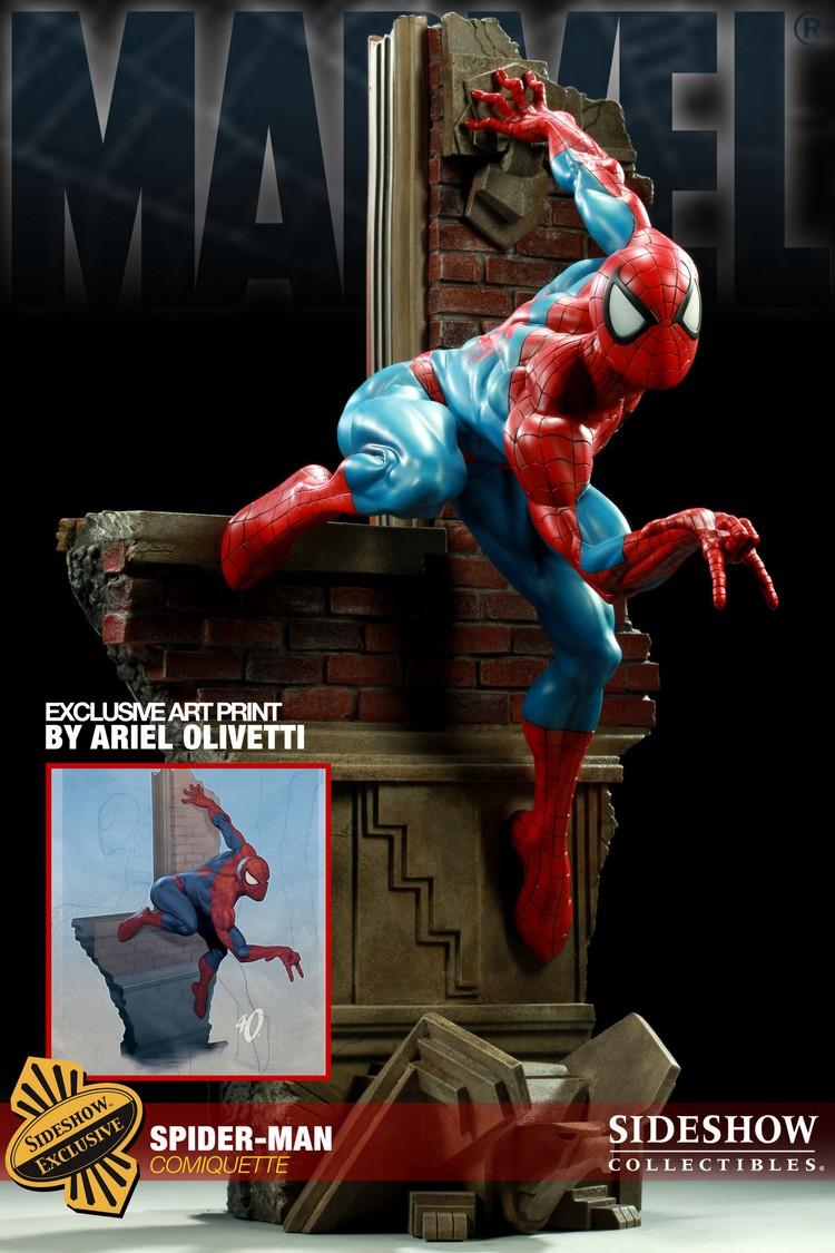 """SPIDERMAN """"ARIEL OLIVETTI"""" Comiquette Spiderman_200065_press_23__Copier_"""