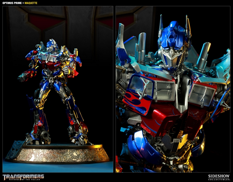 TRANSFORMERS Revenge of the fallen: OPTIMUS PRIME Maquette TRANSFORMERS_REVENGE_OF_THE_FALLEN_OPTIMUS_PRIME_MAQUETTE_400032_press_03__Copier_