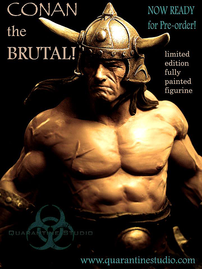 QUARANTINE STUDIO : CONAN THE BRUTAL Conan_the_brutal_statue_quarantine_studio_02