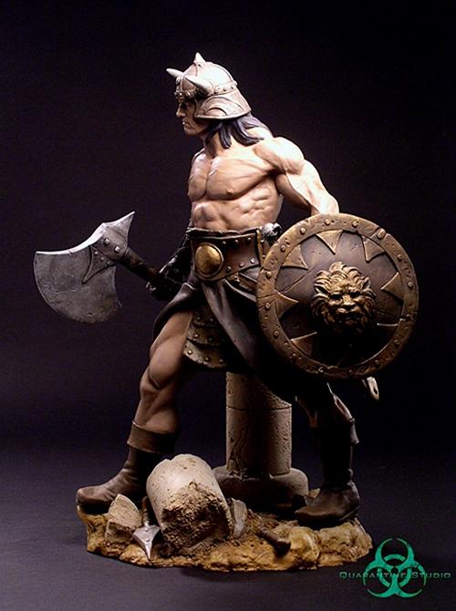 QUARANTINE STUDIO : CONAN THE BRUTAL Conan_the_brutal_statue_quarantine_studio_04