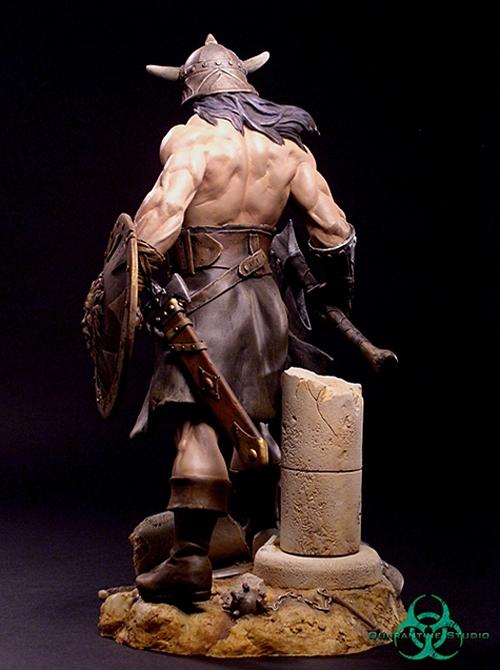 QUARANTINE STUDIO : CONAN THE BRUTAL Conan_the_brutal_statue_quarantine_studio_05