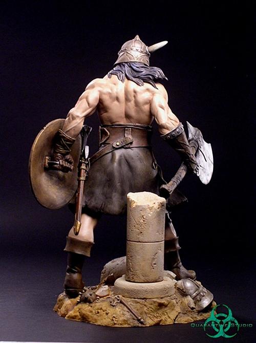 QUARANTINE STUDIO : CONAN THE BRUTAL Conan_the_brutal_statue_quarantine_studio_06