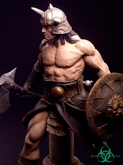 QUARANTINE STUDIO : CONAN THE BRUTAL Conan_the_brutal_statue_quarantine_studio_08