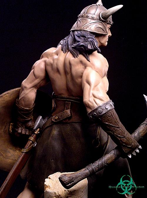 QUARANTINE STUDIO : CONAN THE BRUTAL Conan_the_brutal_statue_quarantine_studio_11