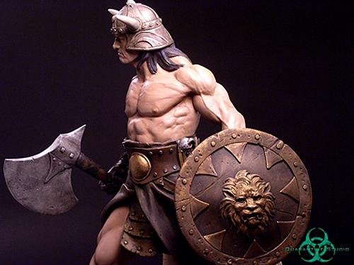 QUARANTINE STUDIO : CONAN THE BRUTAL Conan_the_brutal_statue_quarantine_studio_12