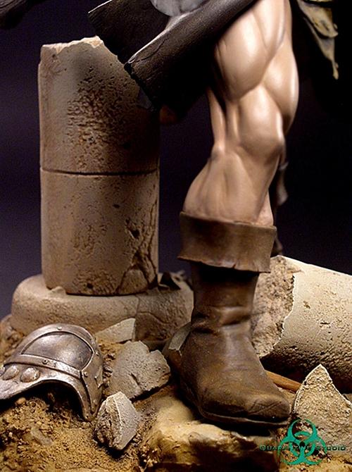 QUARANTINE STUDIO : CONAN THE BRUTAL Conan_the_brutal_statue_quarantine_studio_16