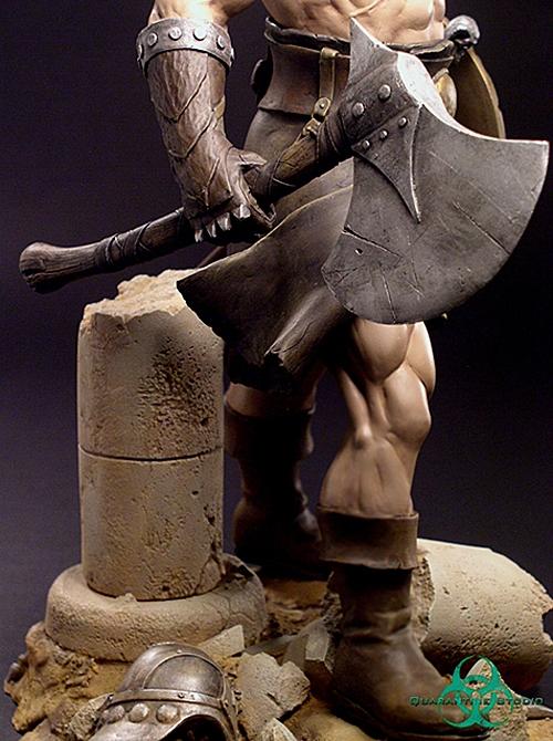 QUARANTINE STUDIO : CONAN THE BRUTAL Conan_the_brutal_statue_quarantine_studio_17