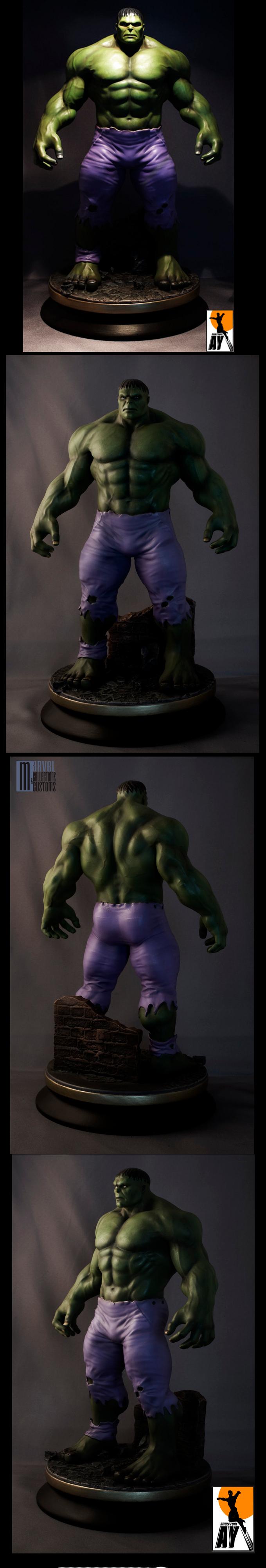 Les travaux de AY sculpture Hulk_Aysculpture