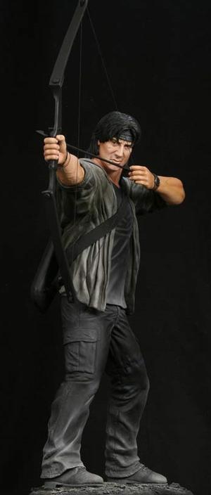HCG : RAMBO STATUE 1/4 SCALE Rambo
