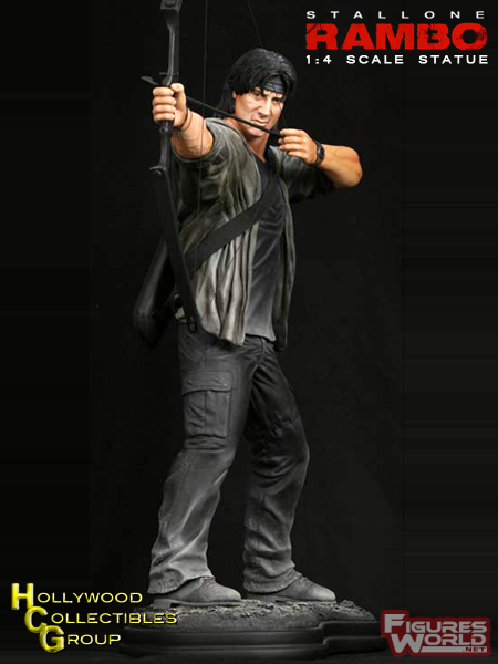 HCG : RAMBO STATUE 1/4 SCALE Rambo4_19inch_statue