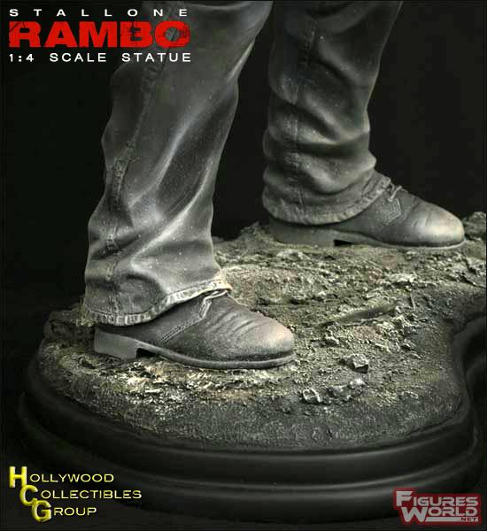 HCG : RAMBO STATUE 1/4 SCALE Rambo4_19inch_statue_09