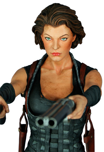 HCG : ALICE RESIDENT EVIL  STATUE  1/4 SCALE Resident_evil_afterlife_milla_statue
