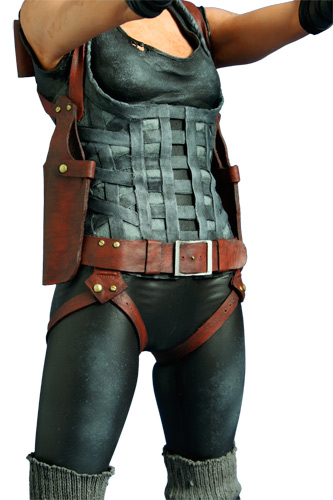 HCG : ALICE RESIDENT EVIL  STATUE  1/4 SCALE Resident_evil_afterlife_milla_statue_3