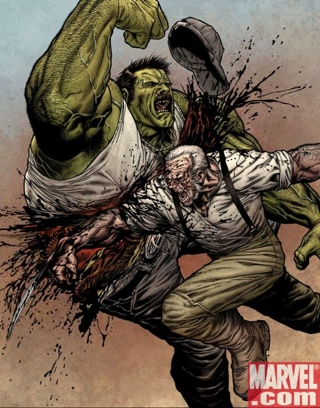 "Statue SERVAL ""Old Man Logan"" (Wolverine) Wolverine_66_SecondPrintingVariant_medium"