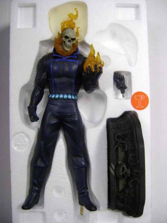 "MOTARD FANTÔME ""J.Blaze / museum change-o-hand"" (Ghost Rider) GhostRiderJB"