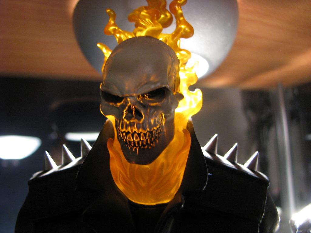 """MOTARD FANTÔME """"D.Ketch / museum"""" (Ghost Rider II) IMG_6148"""