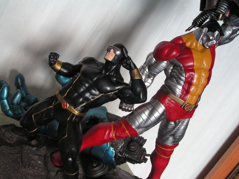 X-MEN VS THE SENTINEL #1 Diorama 130209-dio_2