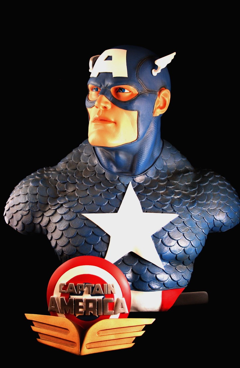 CAPTAIN AMERICA Legendary scale bust 140709-LSB-cap_3